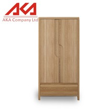 European bedroom furniture modern solid wood almirah design