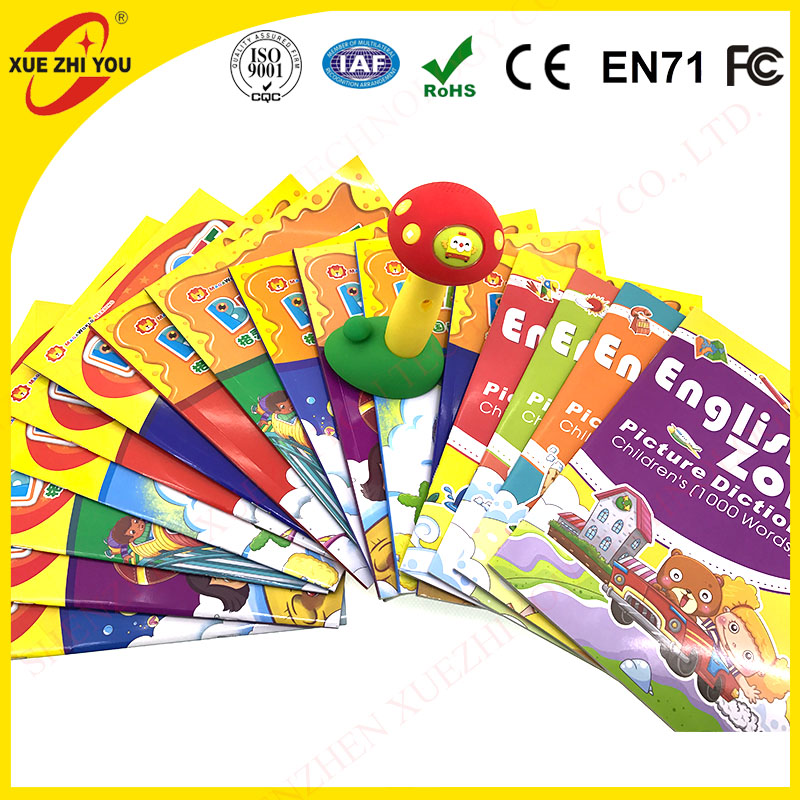educational toy for baby 3-6 years old talking pen English OID learning books