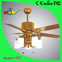 2017 modern lighting 52 inch 60w high quality 220v ceiling fan light