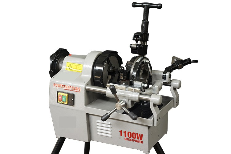 ZT-50BF Factory price automatic 1100W electric pipe threading machine
