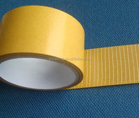 HOT SALE CHEAP DOUBLE SIDED FIBERGLASS TAPE JLW-323, SUITABLE FOR THE ADHESION TO INSULATION LAYER OF FLOOR......