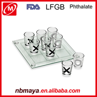 Brand New Action City Drinking Fun Game glass shot