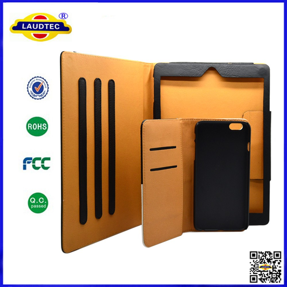 2015 New Style Premium Luxury Genuine Buffalo Leather Case with Magnetic for Iphone <strong>IPad</strong>