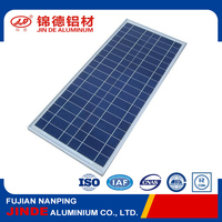 Durable Anodized Aluminum Extrusion Solar Panel Frame