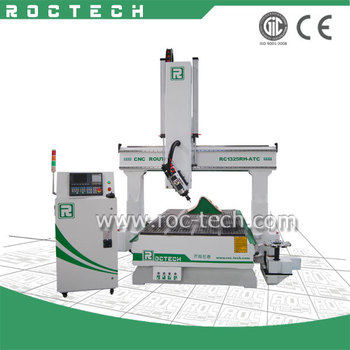 4 Axis CNC Router for Woodworking RC1325RH-ATC