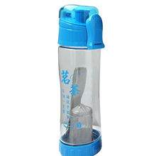 100985 good quality portable water filter bottle Novelty Empty Plastic Drinking Bottles BPA Free as seen on TV