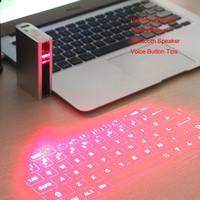 Hot Selling Light Weight Multi-fonction Mini Bluetooth Wireless Virtual Laser Keyboard Laser Projection Keyboard
