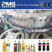 3 in 1 Automatic PET bottle soft energy drink filling equipment prices