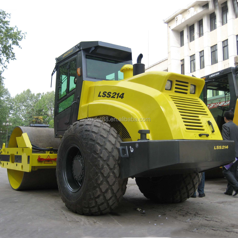 14 ton self-propelled vibratory road roller LSS214