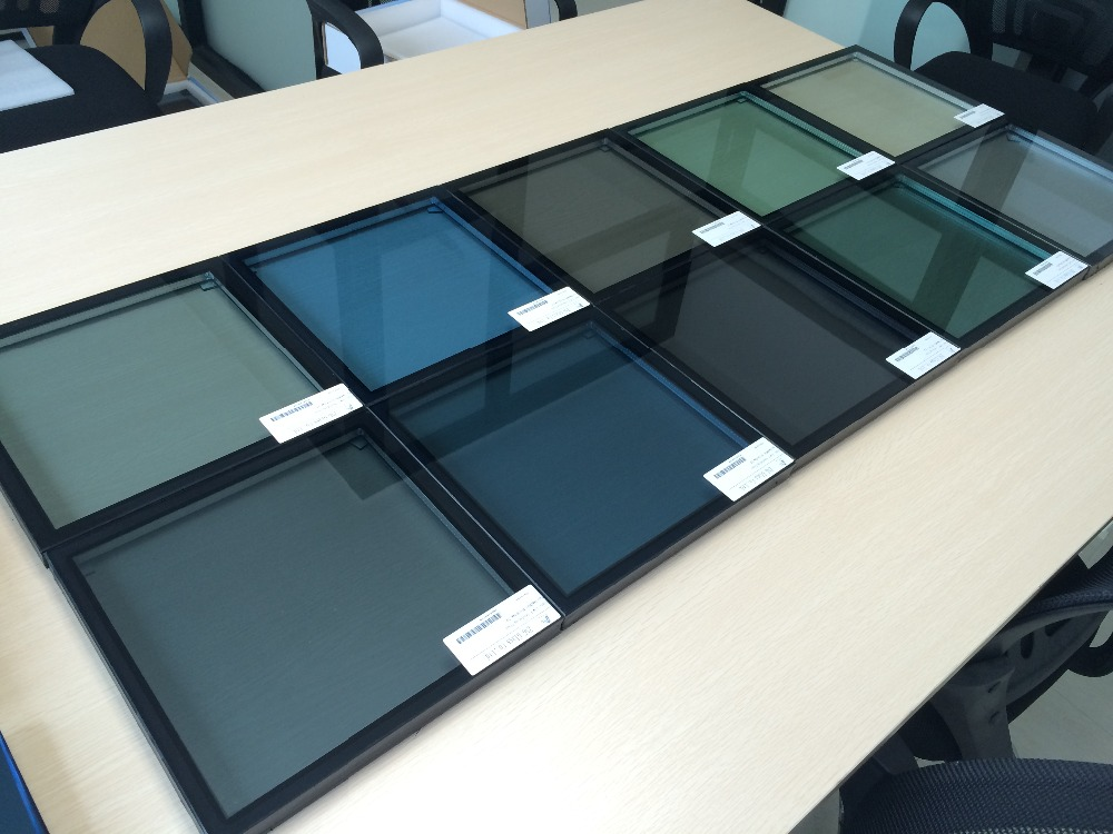 Low E Insulated Glass, DGU, IGU, 24mm/21mm/19mm/32mm Thks