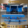 Factory direct 3 axles 20ft 40ft container platform flatbed semi trailer/truck trailer/shipping container trailers for sale