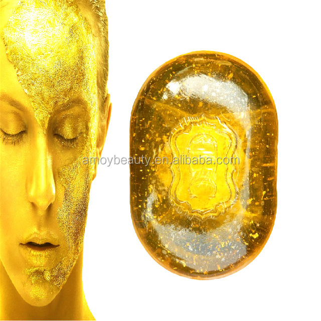 24K Gold Facial Cleaning Soap For Face Care Skin Care Whitening Skin Revitalizing Repairing Beauty 120g