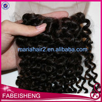 Guangzhou cheap brazilian virgin human hair weaving hair wholesale lace closures