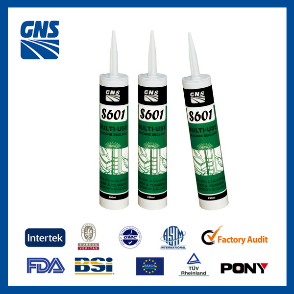 acetoxy all colors silicone adhesive and sealants