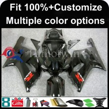 INJECTION MOLDING panels ABS Fairing For Suzuki K1 GSXR 600/750 black GSXR600 GSX R750 GSXR750 2000 2003 Fairing