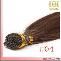 I tip hair extension full head 100g 1g/strand 100 percent indian remy human hair