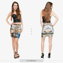 top selling wholesale fashion latest skirt and blouse