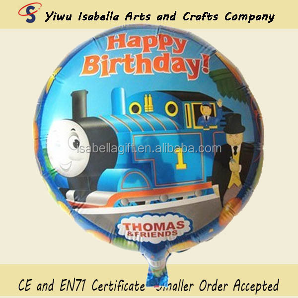 New design Thomas&friends helium balloon,wholesales balloon
