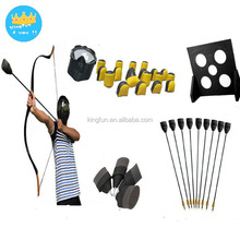 Wholesale archery shooting equipment set bow foam arrow mask paintball bunkers