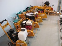 CONMEC TOP QUALITY Floor Saw/Concrete Cutter/Road Cutter/Concrete Saw Machine,with Gasoline Honda Engine