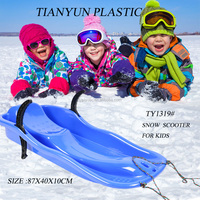 plastic new durable snow scooter for sale