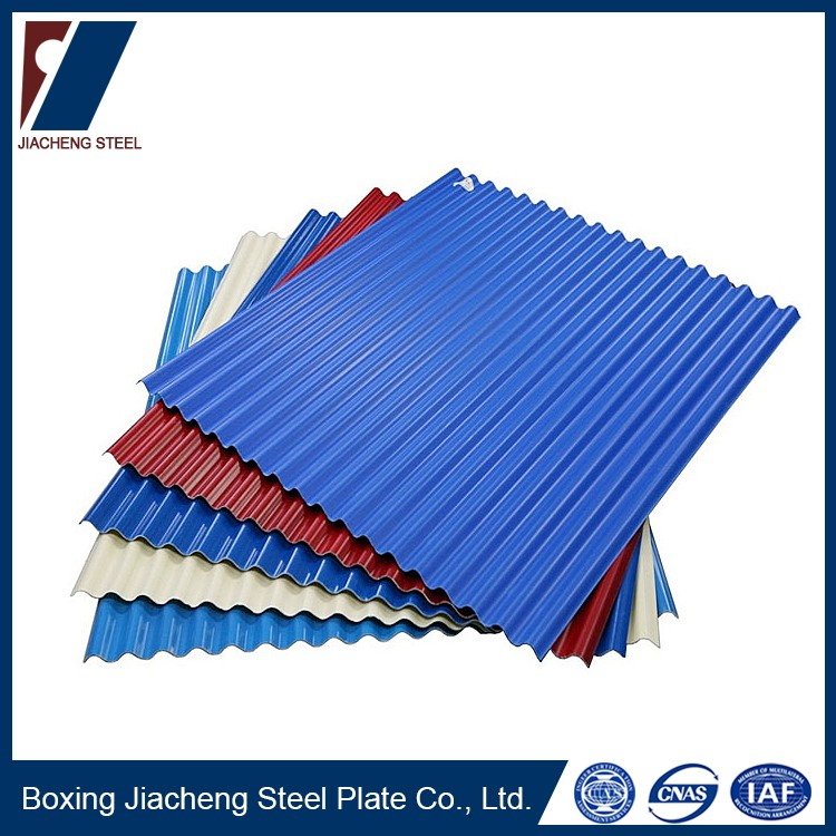 type of roofing sheets steel tile