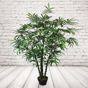 Mini Artificial Buddha Bamboo Plastic Plants