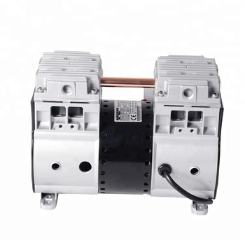 220 V Rated Voltage Oil Free Piston Vacuum Pump