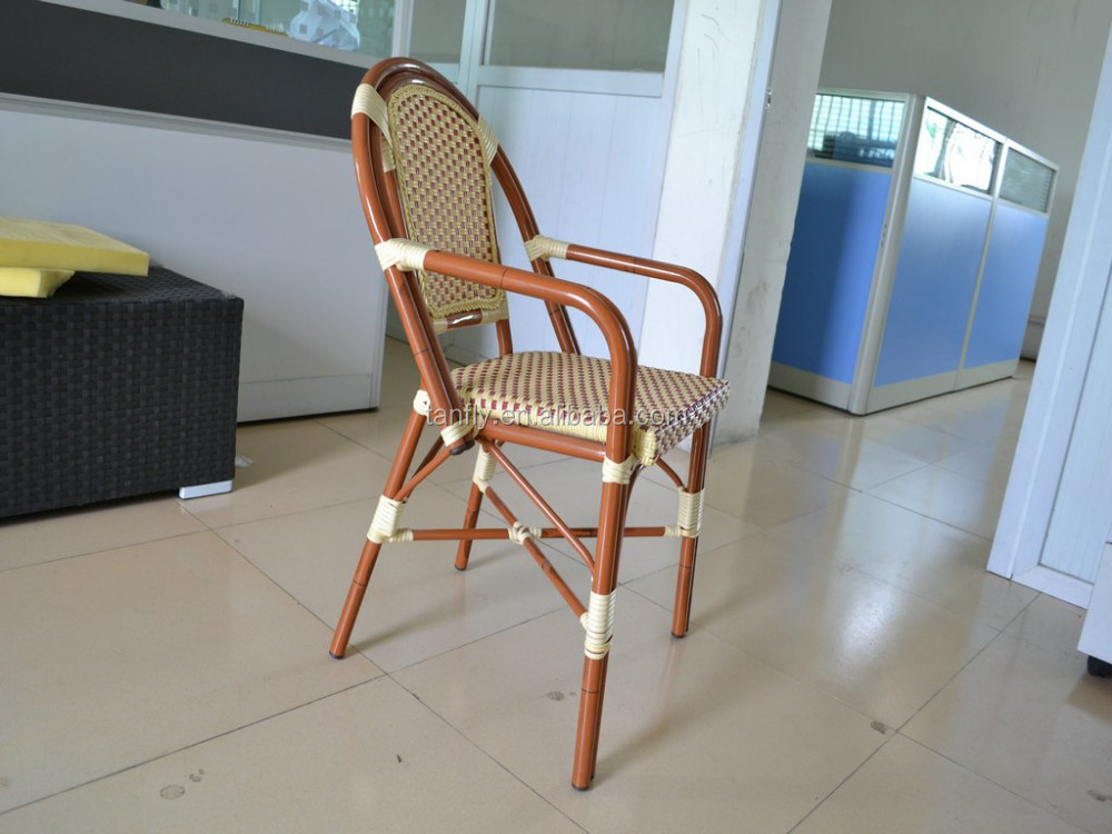 Contemporary bamboo furniture fake bamboo chair.