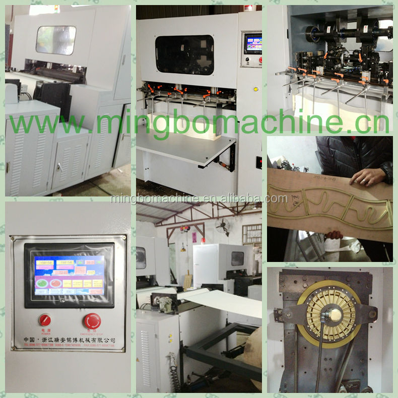 (J-DC850)automatic platen press die cutting machine