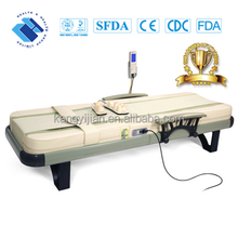 2018 Top quality infrared therapy heating jade massage bed with cheap electric japan made in china jade stone massage bed