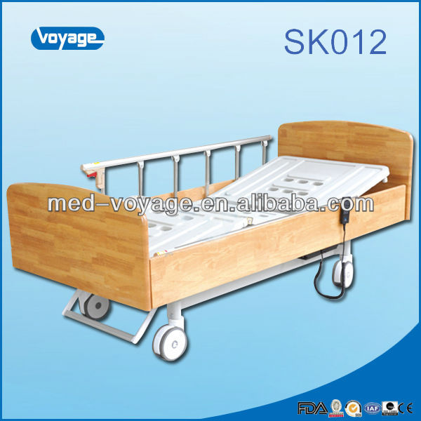 Sk012 Homecare Wooden Electric Hospital Furniture Bed Home Hospital Bed  Dimensions   Buy Home Hospital Bed Dimensions Adjustable Medical Bed Double  Bed. Sk012 Homecare Wooden Electric Hospital Furniture Bed Home