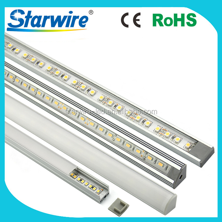 Factory direct sell linear light U shape V shape 5730 led rigid strip