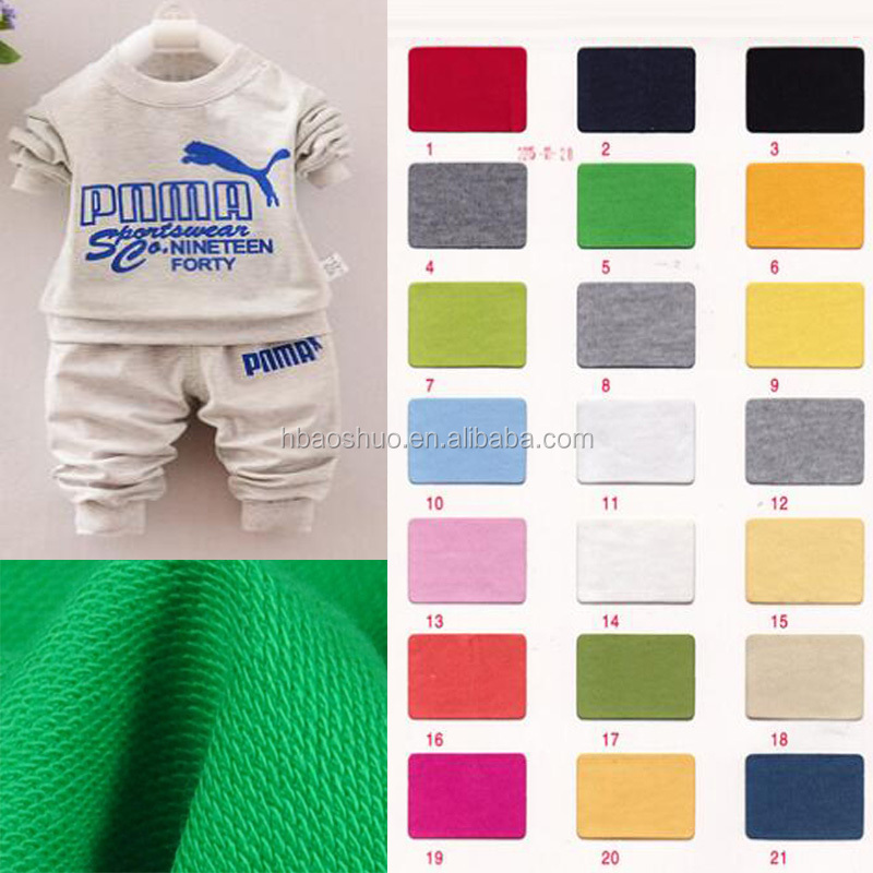 terry fabric wholesale different types of sweater fabric