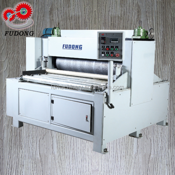 Automatic heat press wood grain emboss machine for sale