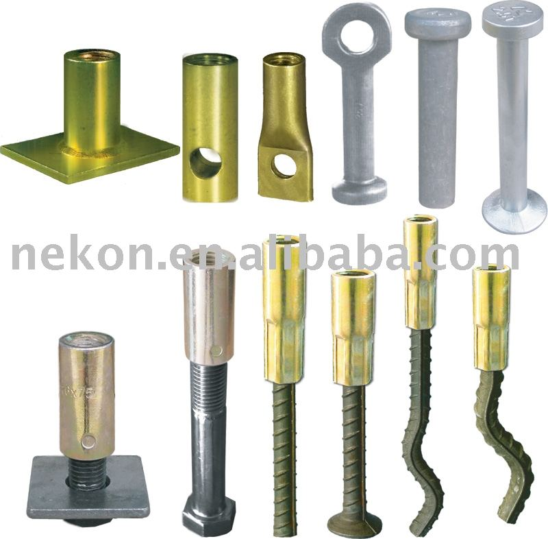 Precast accessories & anchor systemfor lifting elements