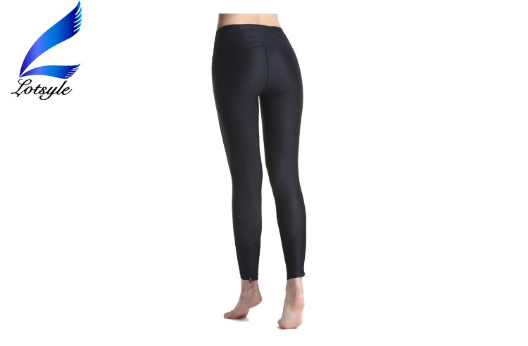 Women High Waist Black Yoga Pants Active Leggings