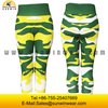 Custom-made aerobics sport elastic pants, 1 size fits all trousers with fresh color, anti-tear seam
