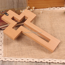 Customized Religious Wood Cross Designs Small Wooden Cross