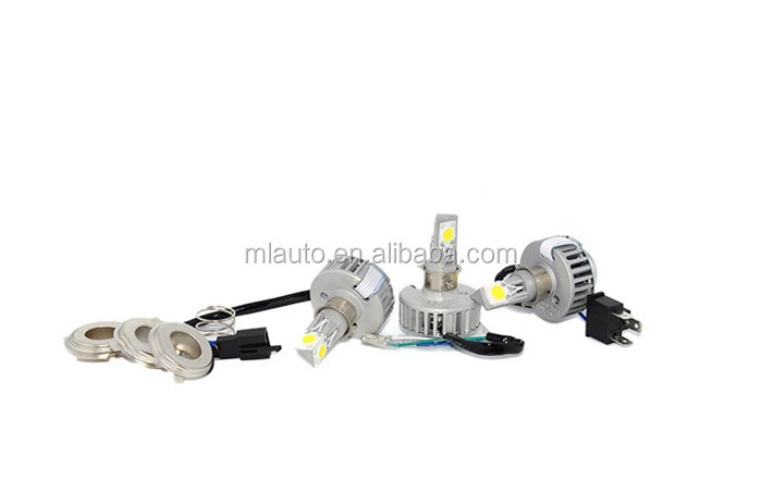 High quality parts high power M3 beam 18W 2500lm led motorcycle headlight