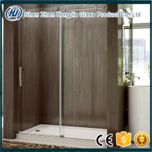 Tempered safety door glass CE certificate interior glass doors