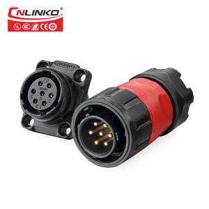 Made in china waterproof explosion-proof cable connector metal pin connector liquid-tight combination connector