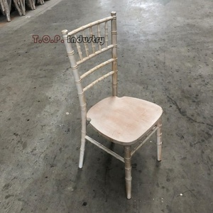 Antique Solid Wood Chiavari Chair
