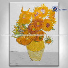 Handmade Decorative Picture Famous Flower Paintings