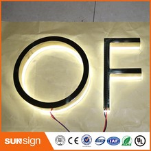 New Arrival Outdoor Advertising Led Vs Neon Channel Letter Signs