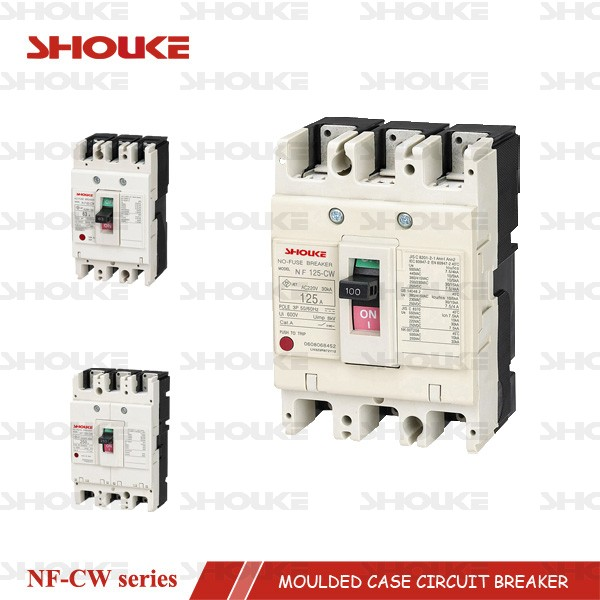 SKW NF125-CW electronic moulded case circuit breaker