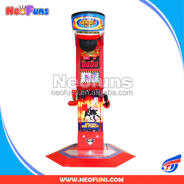 2015 Newest Ultimate Big Punch 3 Personalized Gift Boxing Machine (Cola version),Prize Game Machine,Coin-operated Game