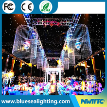 LED curtain light LED cloth led light starry sky lighting
