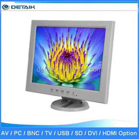DTK-1208T 12 Inch White Color Small Size LED TV