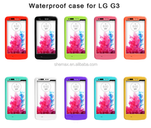 PVC Phone Waterproof bag case for lg g3, waterproof case for lg g3, for lg g3 case cover